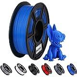 ANYCUBIC 3DプリンターPLAフィラメント造形材料 1.75mm寸法精度+/- 0.02 mm ほとんどのFDM 3Dプリンター用フィラメント (1kg、ブルー)