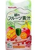 ヤクルト 朝のフルーツ青汁 7gx15袋