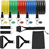 Resistance Bands Set, LT Exercise Bands with Door Anchor, Handles, Waterproof Carry Bag, Legs Ankle Straps for Resistance Tra