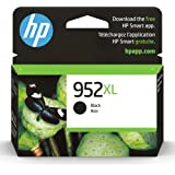 Original HP 952XL Black High-yield Ink Cartridge   Works with HP OfficeJet 8702, HP OfficeJet Pro 7720, 7740, 8210, 8710, 872