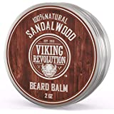 Best Deal Beard Balm with Sandalwood Scent and Argan & Jojoba Oils - Styles Strengthens & Softens Beards & Mustaches - Leave