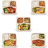 ミシュラン三ツ星シェフのおいしいプラス 冷凍弁当 【第二弾 5食セット】(特徴)おいしさ+健康 無添加 低糖質 低塩分 ご飯付 レンジで温めるだけ