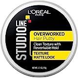 L'Oréal Paris Studio Line Overworked Hair Putty, 1.7 oz.
