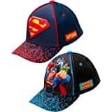 DC Comics Boys 3D Pop Baseball Cap (2 Pack)