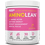 RSP Nutrition Aminolean - All-In-One Pre Workout, Amino Energy, Weight Management Supplement With Amino Acids, Complete Prewo