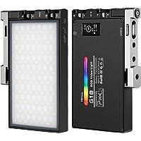 Pixel G1S RGB LED ビデオライト 撮影用ライト 撮影照明ライト2500K-8500K CRI 97+ 3…