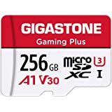 Gigastone Micro SD Card 256GB マイクロSDカード Nintendo Switch 動作確認済 SD アダプタ付 adaptor SDXC U1 C10 100MB/S 高速 micro sd カード UHS-I Full