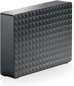 Seagate HDD 外付けハードディスク 3TB USB3.0 テレビ録画対応 かんたん接続ガイド付 静音設計 Windows/macOS両対応 ブラック SGD-NY030UBK