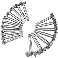 ACBAGI 木工用 穴あけホールソー ボアビット 18本セット ドリル (18本組)