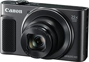 Canon Powershot SX620HS Digital Camera, Black