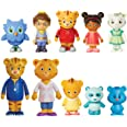 Daniel Tiger's Neighborhood Friends & Family Figure Set (10 Pack) Includes: Daniel, Friends, Dad & Mom Tiger, Tigey & Exclusi