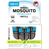 Thermacell Refills for Rechargeable Mosquito Repellers, Radius and E-Series, 3-Pack of 40-Hour Refills for 120-Hours Total; I