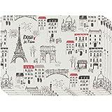 Now Designs Cork-Backed Placemat, Set of 4 Paris Je Taime