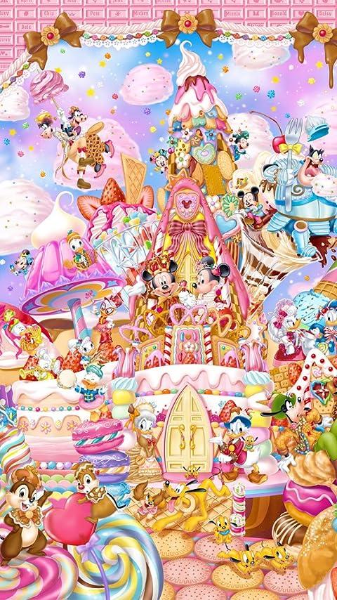 ディズニー ミッキーのスイート キングダム XFVGA(480×854)壁紙 画像41168 スマポ