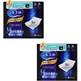 Unicharm Silcot Uruuru Sponge Facial Cotton 40 Sheets X 2 Pack