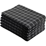Cotton Talks Kitchen Towels - Pack of 5 Dish Towels Cotton - 18 x 28 inches Holiday Kitchen Towels - Extra Absorbent Dish Tow