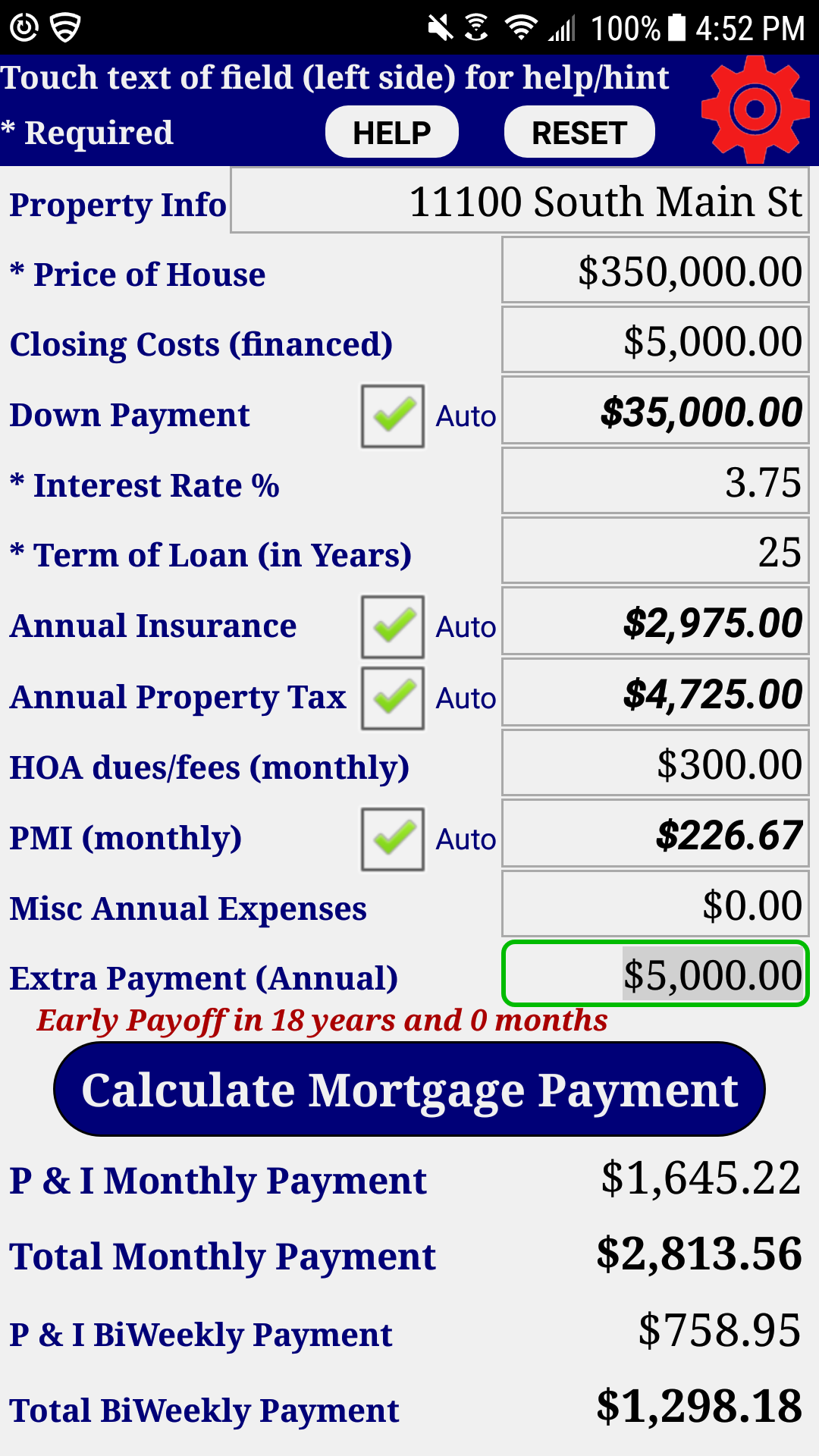 amazon co jp mortgage home loan payment calculator pro android
