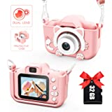 Kids Camera for Girls and Boys, Digital Dual Camera 2.0 Inches Screen 20.0MP Video Camcorder Anti-Drop Children Selfie Cartoo