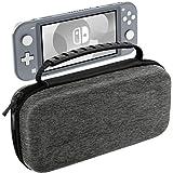Nintendo Switch Lite ケース ATiC ニンテンドー スイッチライト キャリングケース 収納バッグ EVA素材 耐衝撃 全面保護 軽量 Nintendo Switch Liteコンソール /付属品 /10枚ゲームカード収納 持ち運