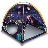 MountRhino Rocket Ship Play Tent Playhouse - Rocket Ship Tent, Astronaut Space Tent for Kids, Portable Kids Pop Up Play Tent