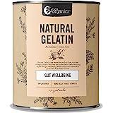 Nutra Organics Natural Gelatin Powder   Perfect for Soups, Baking & Making Natural Gummies & Jellies   Plastic-Free Packaging