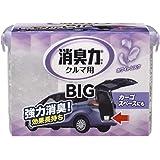 クルマの消臭力 BIG 900g クルマ クルマ用消臭芳香剤 ホワイトムスク