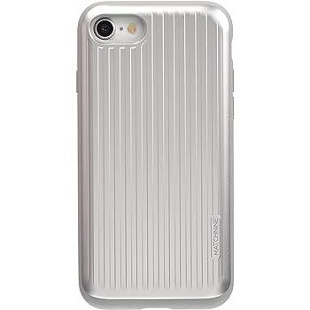 570eb53cca Matchnine iPhone 8 ケース CARDLA CARRIER シルバー(マッチナイン カードラキャリア)アイフォン カバー スライド式 カード収納 4.7インチ【日本正規代理店品】