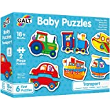 Galt 1003037 Baby Puzzles -Transport - 2pcs