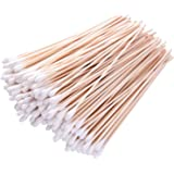 700pcs Cotton Swabs with Wooden Handle 6 Inch Long Applicator Single Tip, Accessory for Gun Cleaning, Jewelry, Ceramics, Elec