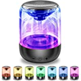 Portable Bluetooth Speaker, Mini Pocket Size Man Gadget, True Wireless Stereo Speaker with Crystal Clear Sound Rich Bass 33 F