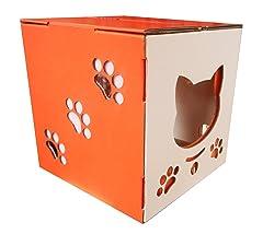 わんずもあ ダンボール屋さんが作った猫ボックス オレンジ