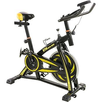 BTM(ビーティーエム) スピンバイク フィットネス エクササイズバイク MS036810 本格トレーニング