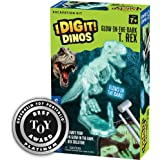 Thames & Kosmos I Dig It Dinos Glow-In-The-Dark T. Rex Excavation | Science Experiment Kit | Glowing Tyrannosaurus Rex Dinosa