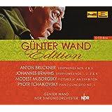 ハンブルク北ドイツ放送交響楽団ライヴ集成 (Gunter Wand Edition - Bruckner: Sym. Nos. 4 & 5, Brahms: Sym. Nos.1~4, Musorgsky: Pictures At An Exhibi