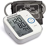 Blood Pressure Monitor by Paramed: Accurate Automatic Upper Arm Bp Machine & Pulse Rate Monitoring Meter with Cuff 22-40cm,12