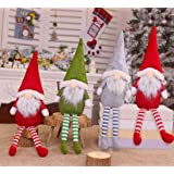 Tomte Gnomes, Stuffed Gnomes Elf Decorations Set Pack of 4 Colorful Scandinavian Gnomes Adorable Holidays Home Decorations Gr