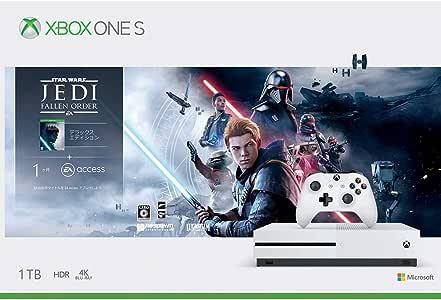 Xbox One S 1 TB Star Wars ジェダイ:フォールン・オーダー™ デラックス エディション 同梱版「デス・スター破壊作戦ミッションコード」 配信