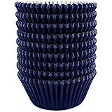 Eoonfirst Standard Size Baking Cups 200 Pcs (Navy Blue)