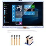 kuman 5 inch Resistive Touch Screen 800x480 HDMI TFT LCD Display Module with Touch Panel USB Port and Touch Pen for Raspberry