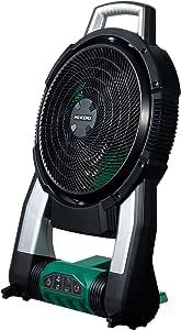 HiKOKI(ハイコーキ) 旧日立工機 14.4V 18V共用 コードレスファン 充電式 AC100V使用可 自動首振り機能 蓄電池・充電器別売り UF18DSAL(NN)