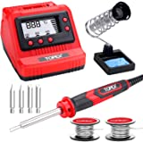 TOPEX 60W digital soldering Iron Station Solder Fast Heat Variable Temperature LED Display