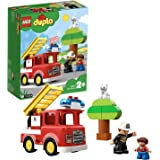 LEGO DUPLO Town Fire Truck 10901 Building Block Toy, 2019 (21 Pieces)