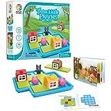 SmartGames SG023 Three Little Piggies Deluxe Preschool Puzzle Game