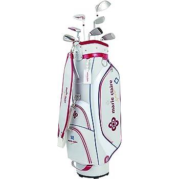 イグニオ キャディーバック付き レディース IGNIO ゴルフ 15LD2×4Pカーボンシャフト ハーフセット クラブ 7本セット