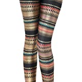 GSHappyGo Women's High Waist Nation Flag Printed Ankle Elastic Tights Legging