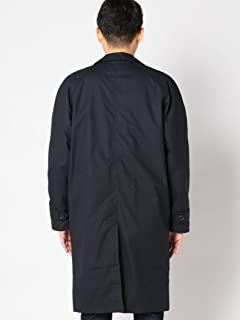 Balmacaan Coat 114-15-0297: Navy