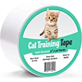 ELK Anti-Scratch Cat Training Tape Provides Cat Scratch Prevention for Furniture, Couch, Door, Carpet and More (3 Inches X 30