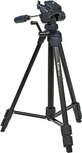 Kenko 三脚 ZF-300 3段 レバーロック式 19mm角型パイプ 3ウェイ雲台 クイックシュー式 520123