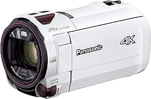 パナソニック 4K ビデオカメラ VX992M 64GB 光学20倍ズーム ピュアホワイト HC-VX992M-W