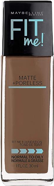 Maybelline Fit Me Matte & Poreless Mattifying Liquid Foundation - Latte 358